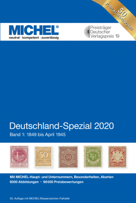 Germany Specialized 2020 – Volume 1 (1849–April 1945)