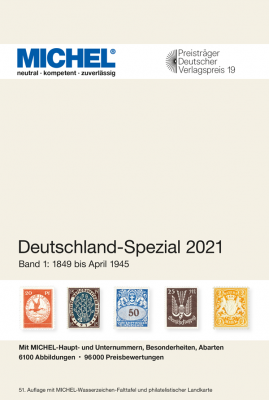 Germany Specialized 2021 – Volume 1 (1849–April 1945)