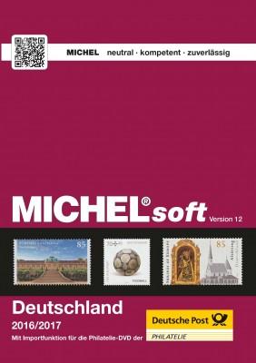 MICHELsoft Briefmarken Deutschland 2016/2017 – Version 12