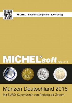 MICHELsoft Münzen Deutschland 2016 – Version 12