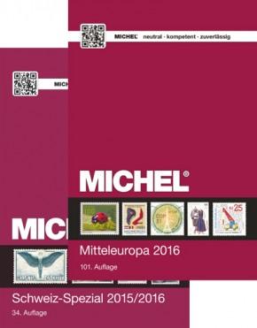 Aktions-Set: Mitteleuropa 2016 (EK 1) & Schweiz-Spezial 2015/2016