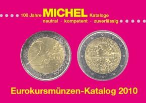 Eurokursmünzen 2010