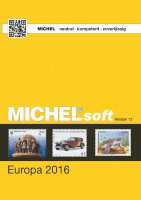 MICHELsoft Briefmarken Europa 2016 – Version 12