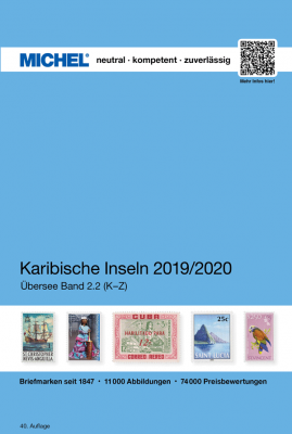 Caribbean Islands 2019/2020 (OC 2.2) - Volume 2 K-Z