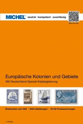 Europäische Kolonien und Gebiete