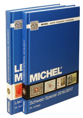 Schweiz-Spezial- & MICHEL-LBK-Liechtenstein-Spezial 2016/2017 (Set)