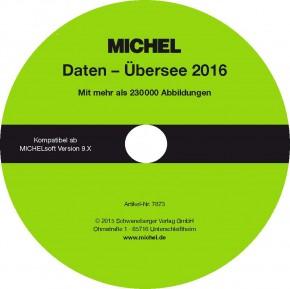 MICHEL-Daten/Update Briefmarken Übersee 2016 – für Soft & Album