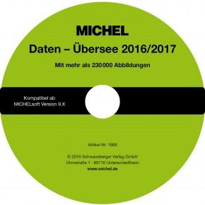 MICHEL-Daten/Update Briefmarken Übersee 2016/2017 – für Soft & Album