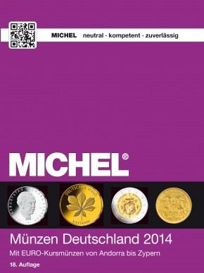 Münzen Deutschland 2014