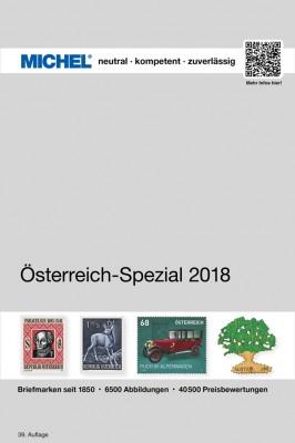 Österreich-Spezial 2018 – inkl. Ganzsachen (E-Book)