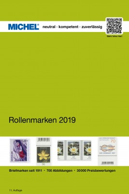 Coil Stamps Germany 2019