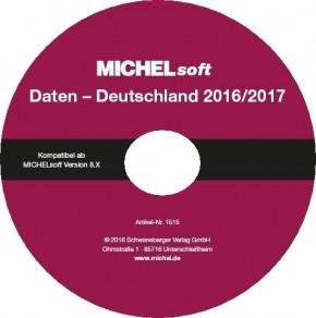 MICHEL-Daten/Update 2016/2017 Briefmarken Deutschland – für Soft