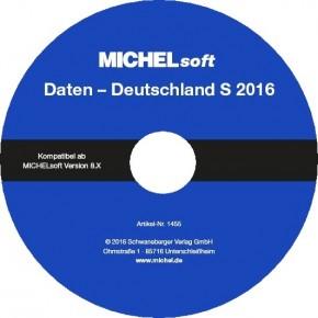 MICHEL-Daten/Update 2016 Briefmarken Deutschland S – für Soft