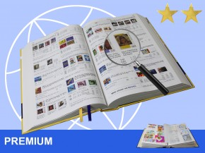 Online-Katalog Briefmarken Ganze Welt, Premium Version