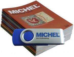 MICHEL-Rundschau-Jahrgang 2016 auf USB-Stick